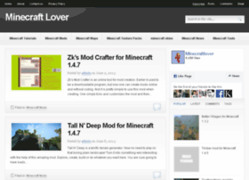 Minecraftlover.com thumbnail