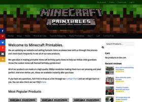 Minecraftprintables.com thumbnail