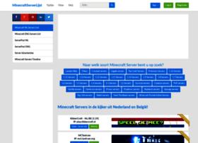 Minecraftserverlijst.nl thumbnail