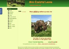 Mini-ezelstal-leone.nl thumbnail
