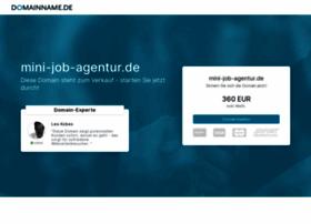 Mini-job-agentur.de thumbnail