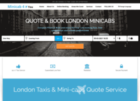 Minicab4you.co.uk thumbnail