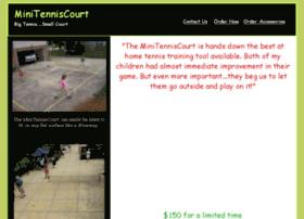 Minitenniscourt.net thumbnail