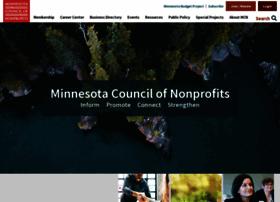 Minnesotanonprofits.org thumbnail