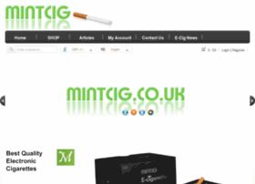 Mintcig.co.uk thumbnail