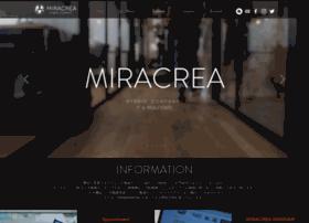 Miracrea.co.jp thumbnail