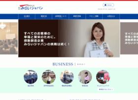 Mirai-japan.jp thumbnail