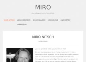 Miro-nitsch.de thumbnail