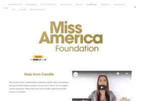 Missamericafoundation.org thumbnail