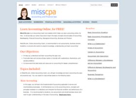 Misscpa.com thumbnail