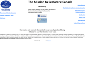 Missiontoseafarers.ca thumbnail