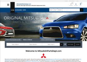 Mitsubishipartsdept.com thumbnail