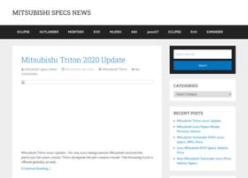 Mitsubishispecsnews.com thumbnail