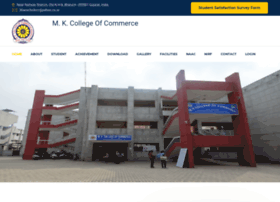 Mkccollege.ac.in thumbnail