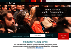MLA in Text Citation Website Example