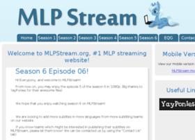 Mlpstream.org thumbnail