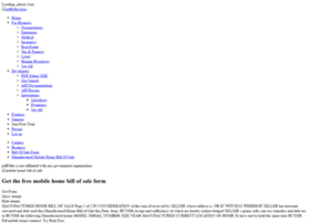 Mobile-home-bill-of-sale.pdffiller.com thumbnail