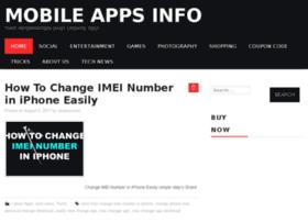 Mobileappsinfo.in thumbnail