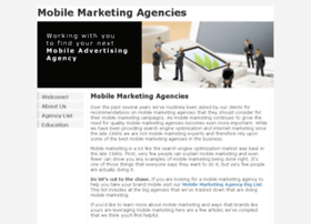Mobilemarketingagencies.com thumbnail