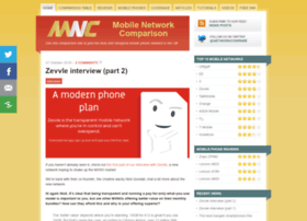 Mobilenetworkcomparison.org.uk thumbnail