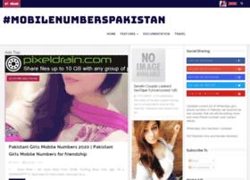 Mobilenumberspakistan.blogspot.com thumbnail