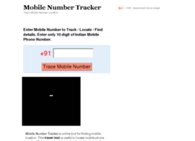 Mobilenumtracker.com thumbnail