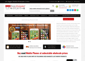 Mobilephonewholesalers.co.uk thumbnail