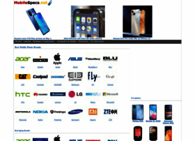 Mobilespecs.net thumbnail