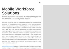 Mobileworkforcesolutions.garagepunks.com thumbnail