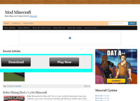 Mod-minecraft.org thumbnail