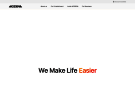 Modena Com At Wi Modena Global Site