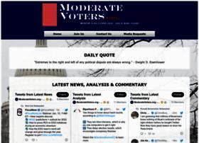Moderatevoters.org thumbnail