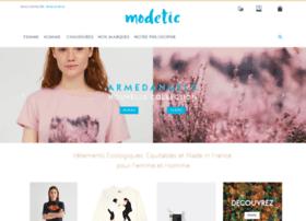 Modetic.fr thumbnail