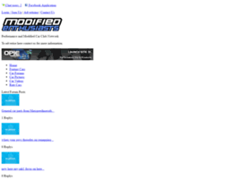 Modified-enthusiasts.co.uk thumbnail