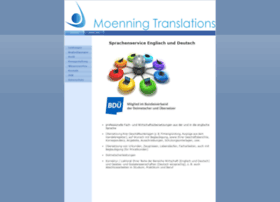 Moenning-translations.de thumbnail