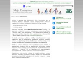 Mojaemerytura.zus.pl thumbnail