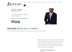 Molabaattorneys.co.za thumbnail