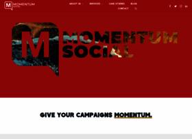 Momentumsocial.com thumbnail