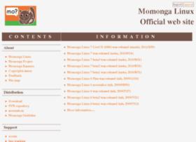 Momonga-linux.org thumbnail