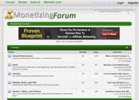 Monetizingforum.net thumbnail