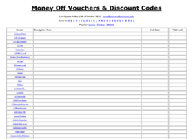 Moneyoffvouchers.info thumbnail
