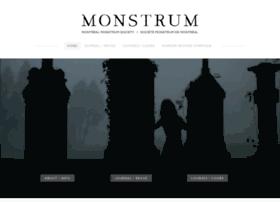 Monstrum-society.ca thumbnail