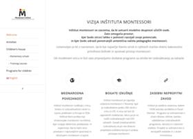 Montessori-institut.si thumbnail