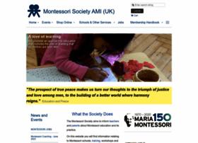 Montessorisociety.org.uk thumbnail