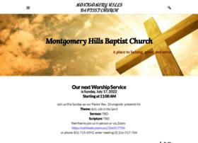 Montgomeryhillsbaptist.church thumbnail