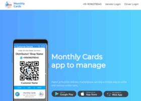 Monthlycards.app thumbnail
