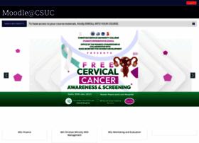 Moodle.csuc.edu.gh thumbnail