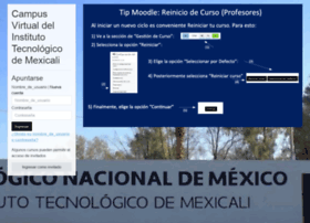 Moodle.itmexicali.edu.mx thumbnail