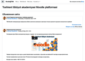 Moodle.tma.uz thumbnail
