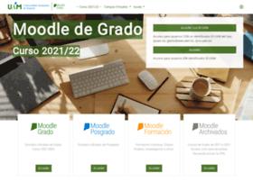 moodle.uam.es at WI. MOODLE DE GRADO